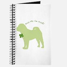 Shar Pei... Kiss Me I'm Irish! Journal