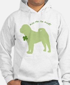 Shar Pei... Kiss Me I'm Irish! Jumper Hoody