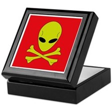Keepsake Box - Alien pirate