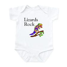 Lizards Rock Infant Bodysuit