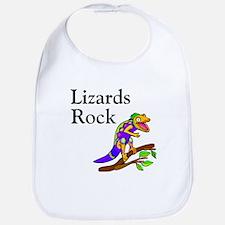 Lizards Rock Bib