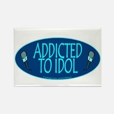 Addicted 2 Idol Rectangle Magnet