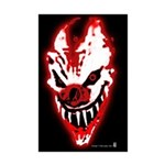 WICKED CLOWN Poster Print