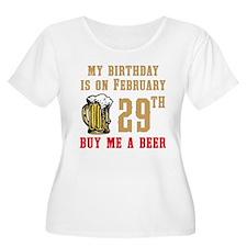 Birthday Beer 02/29 T-Shirt
