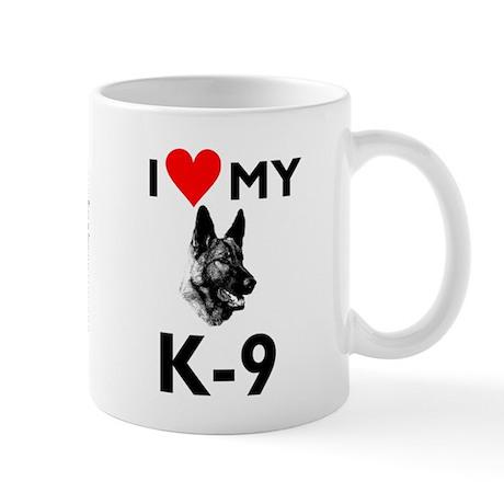 """""""Love My K-9"""" Mug"""
