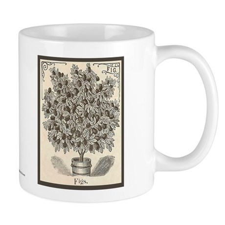 Fig Etching Mug
