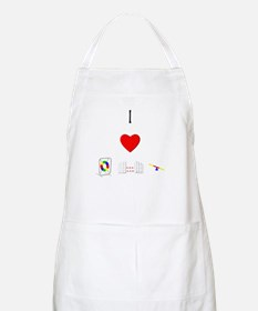 I Love Agility (with equipment) Apron