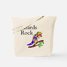 Lizards Rock Tote Bag