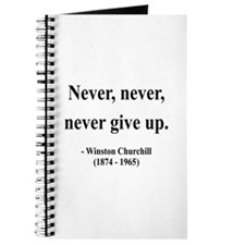Winston Churchill 3 Journal