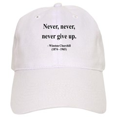 Winston Churchill 3 Baseball Cap