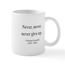 Winston Churchill 3 Small Mug
