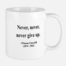 Winston Churchill 3 Small Small Mug