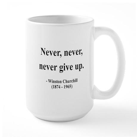 Winston Churchill 3 Large Mug
