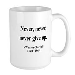 Winston Churchill 3 Large Mug