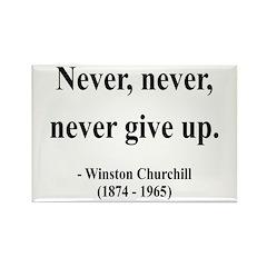 Winston Churchill 3 Rectangle Magnet (100 pack)