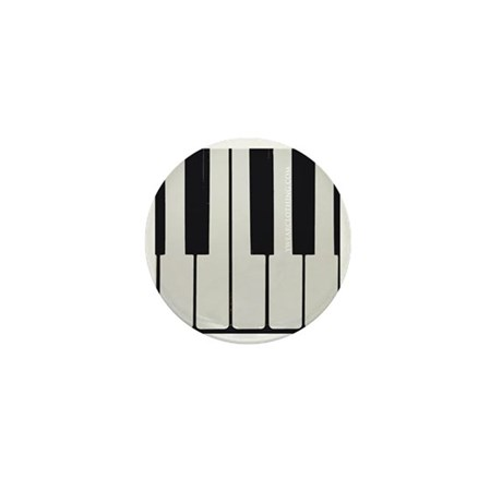 Piano Keyed Mini Button