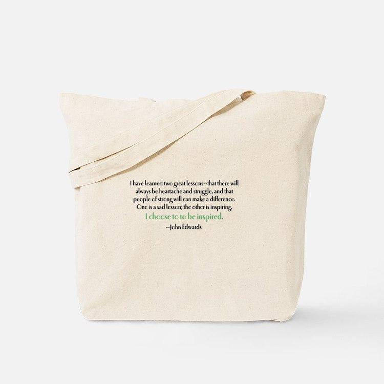 Edwards Inspired Tote Bag