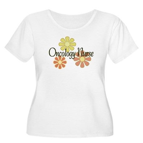 Oncology Nurse Women's Plus Size Scoop Neck T-Shir