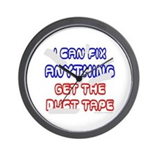 GET THE DUCT TAPE Wall Clock