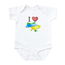I Love Ukraine Infant Bodysuit
