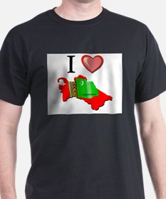 I Love Turkmenistan T-Shirt