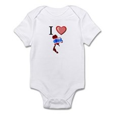 I Love Thailand Infant Bodysuit