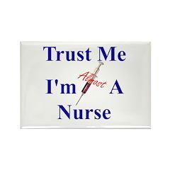Trust Me ....Nurse Rectangle Magnet