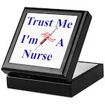 Trust Me ....Nurse Keepsake Box