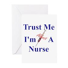 Trust Me ....Nurse Greeting Cards (Pk of 20)