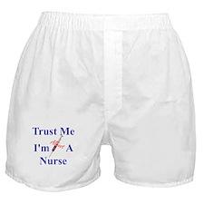 Trust Me ....Nurse Boxer Shorts