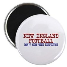 New England Football Perfection Magnet