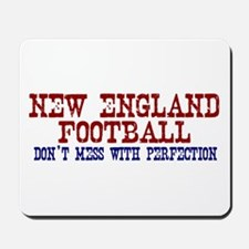 New England Football Perfection Mousepad