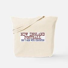 New England Football Perfection Tote Bag