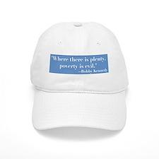 Blbby Kennedy on Poverty Baseball Cap
