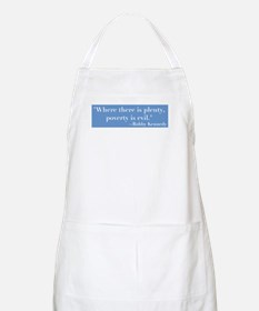 Blbby Kennedy on Poverty BBQ Apron