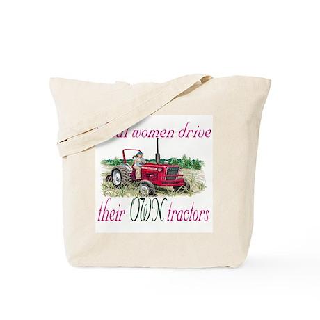 Real Women/Tractors Tote Bag