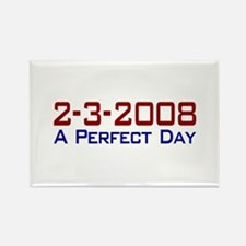 19-0 A Perfect Day Rectangle Magnet