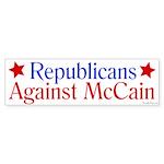 Republicans Against McCain bumper sticker