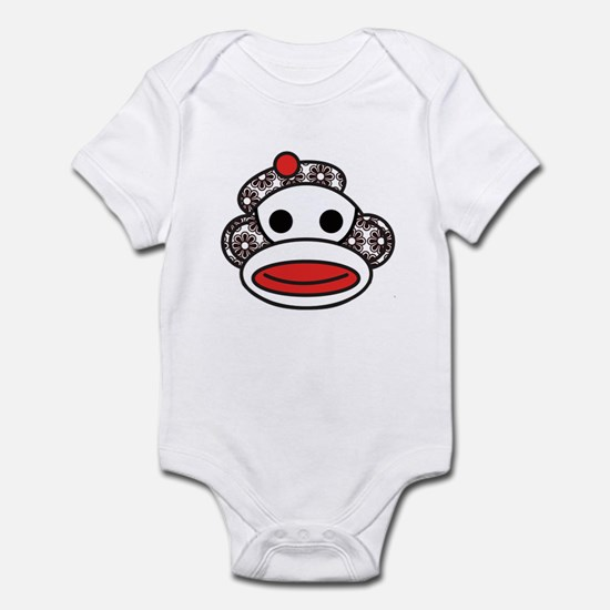 Sock Monkey Infant Bodysuit