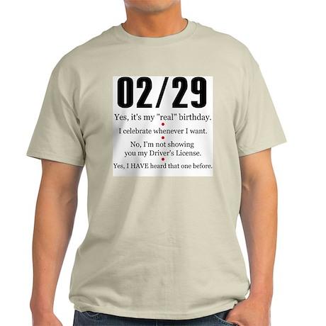 02/29 Answers Light T-Shirt