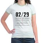 02/29 Answers Jr. Ringer T-Shirt
