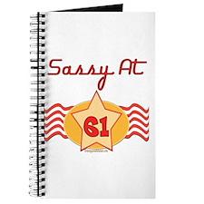 Sassy At 61 Years Journal