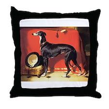 Elegant Greyhound Throw Pillow