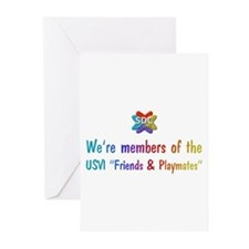 Frndsplymats Products Greeting Cards (Pk of 10