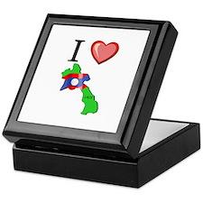 I Love Laos Keepsake Box