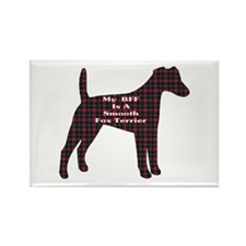 BFF Smooth Fox Terrier Rectangle Magnet (100 pack)