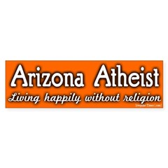 Arizona Atheist Bumper Bumper Sticker