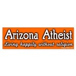 Arizona Atheist Bumper Sticker
