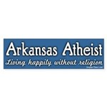 Arkansas Atheist Bumper Sticker
