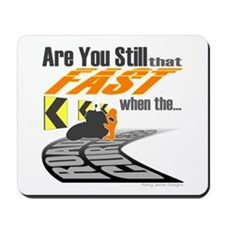 Fast Motorcycle Mousepad